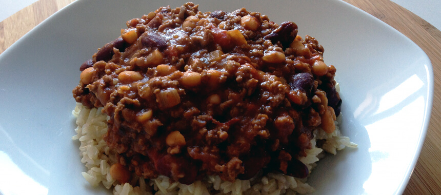 Verdens bedste chili con carne